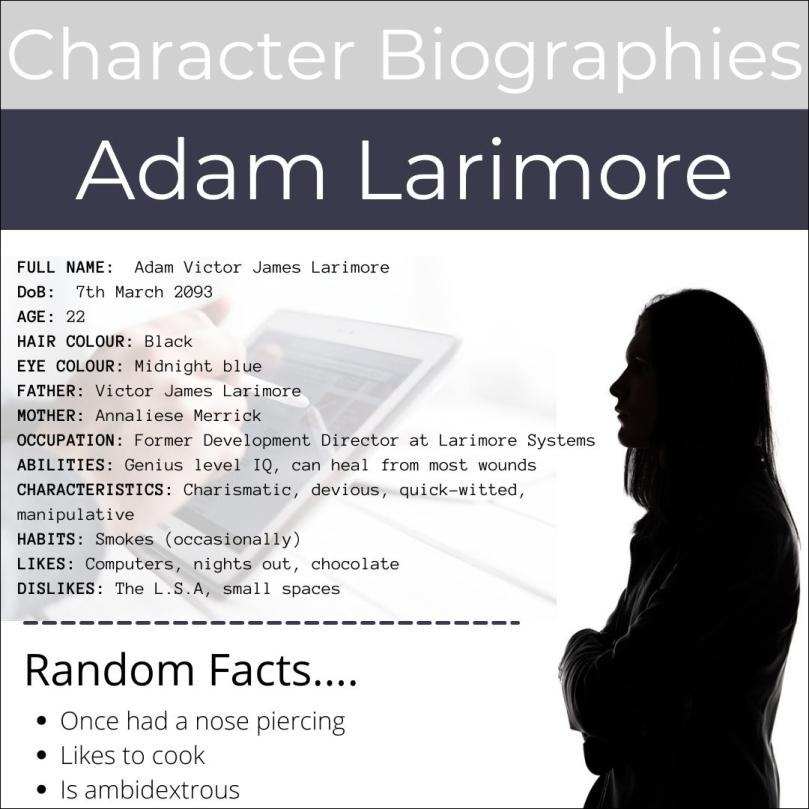 Adam Larimore - Bio