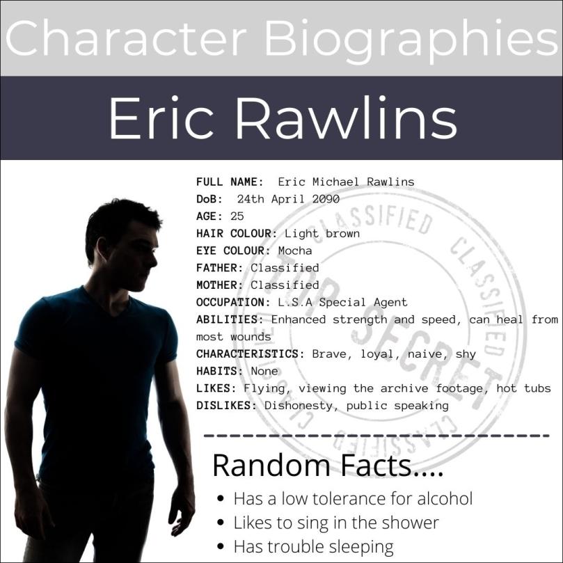Eric Rawlins - Bio